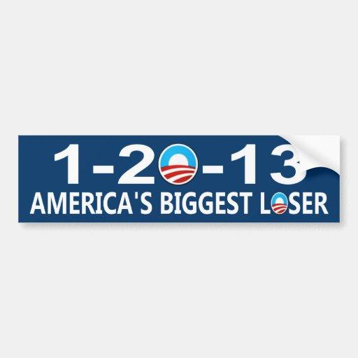 1-20-13 anti Obama Bumper Sticker