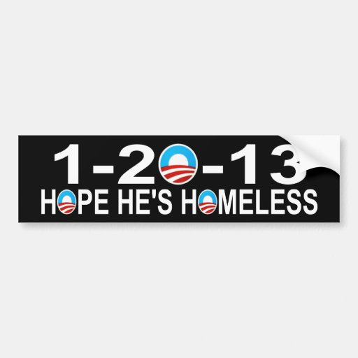 1-20-13 anti Obama Bumper Stickers