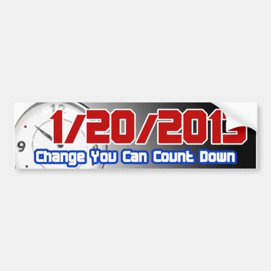 1-20-13 Bumper Sticker