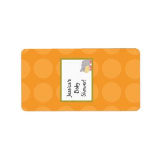 "1.25""x2.75"" Hershey's Miniature Tropical Punch Address Label"