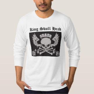 1, 2, 3, cross1, cross bones, King Skull Head T-Shirt