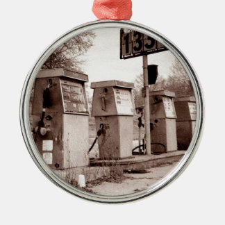 $1.33 For Gas Please Metal Ornament