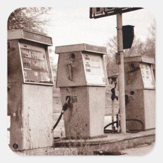 $1.33 For Gas Please Square Sticker