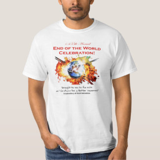 1,435th Annual END OF THE WORLD CELEBRATION! T-Shirt