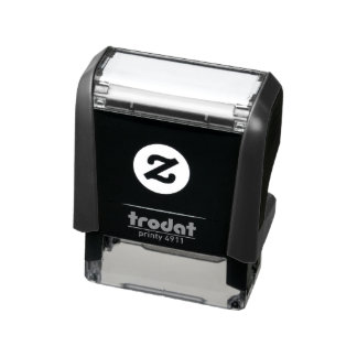 "1.4"" x 0.4"" Self Inking Rubber Stamp"