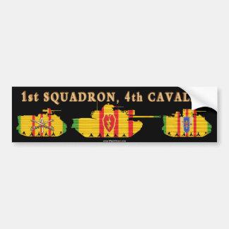 1/4th Cavalry VSR Tracks & Tank Bumper Sticker