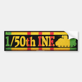 1/50th Inf. with M113 VSR Bumper Sticker