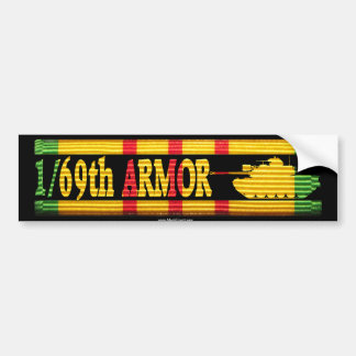 1/69th Armor M48A3 VSR Bumper Sticker
