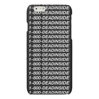 1-800-Dead Inside iPhone Grunge Case