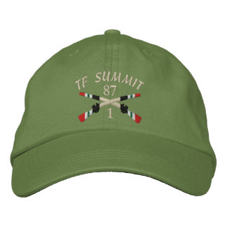 1-87th Inf. TF Summit Iraq Crossed Rifles Hat Baseball Cap
