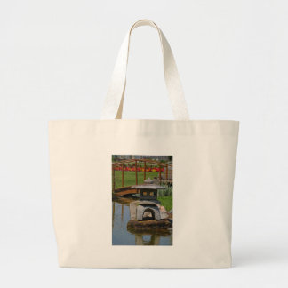 1 A Rare Spot of Respite and Peace.JPG Large Tote Bag