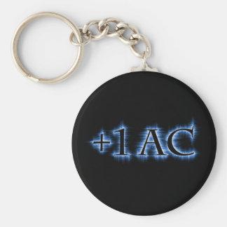 +1 AC Keychain
