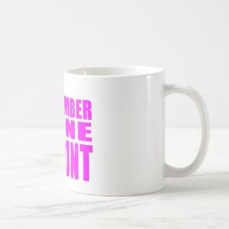 #1 Aunts Birthdays & Christmas : Number One Aunt Coffee Mug