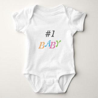 #1 baby jersey babysuit baby bodysuit