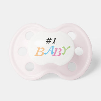 #1 baby pacifier