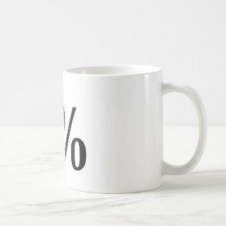 1% BASIC WHITE MUG