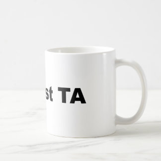 #1 Best TA Coffee Mug