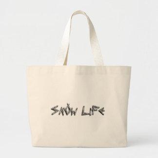 1 BIG SNOW LIFE Mountain.png Tote Bag