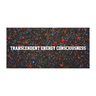 1 BILLION STARS-TRANSCENDENT ENERGY CONSCIOUSNESS CANVAS PRINT