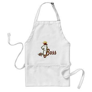 #1 boss adult apron