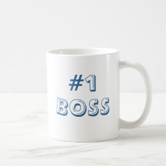 #1 BOSS COFFEE MUG