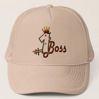 # 1 boss cool text design hat