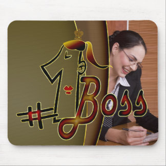 #1 boss mouse pad