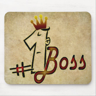 #1 boss mouse pad