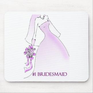 #1 Bridesmaid Mousepad