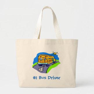 #1 Bus Driver Jumbo Tote Bag