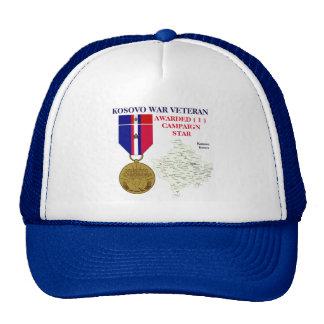 1 CAMPAIGN STAR KOSOVO WAR VETERAN HAT