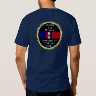 1 CAMPAIGN STAR KOSOVO WAR VETERAN SHIRT