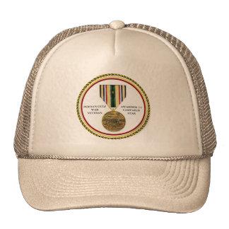 1 CAMPAIGN STAR PERSIAN GULF WAR VETERAN TRUCKER HAT