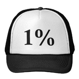 1% TRUCKER HATS