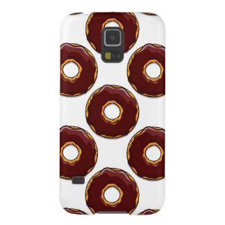 1 Cartoon Chocolate Donut Design Cases For Galaxy S5