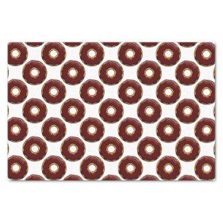 1 Cartoon Chocolate Donut Design Tissue Paper
