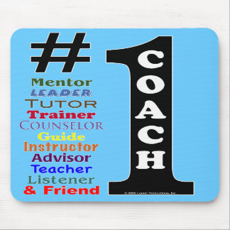 #1 Coach Mousepad