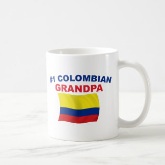 #1 Colombian Grandpa Coffee Mug