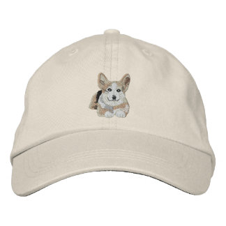 1 cool Corgi Embroidered Baseball Caps