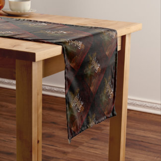 1 Corinthians 13:13 Bible Verses Quote About LOVE Short Table Runner