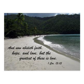 1 Corinthians 13:13 Postcard