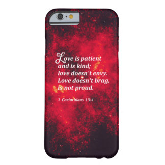 1 Corinthians 13:4 Barely There iPhone 6 Case