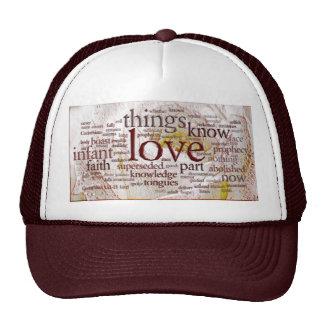 1 Corinthians 13 Rose (v1) Mesh Hats