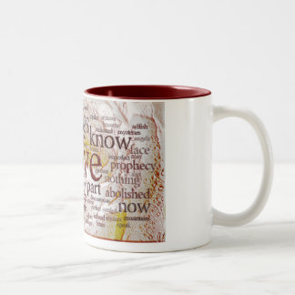 1 Corinthians 13 Rose (v1) Coffee Mug