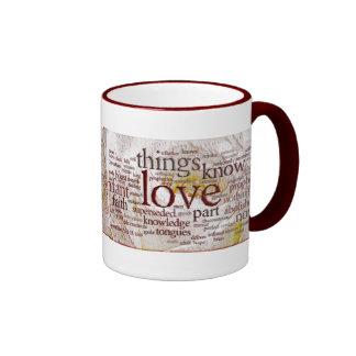 1 Corinthians 13 Rose (v1) Mugs
