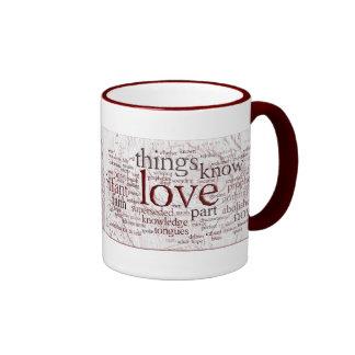 1 Corinthians 13 Rose (v2) Mugs