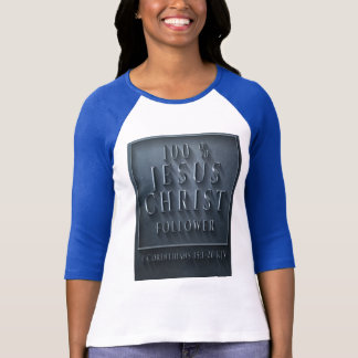 1 Corinthians 15 KJV 3/4 Sleeve Raglan T-Shirt