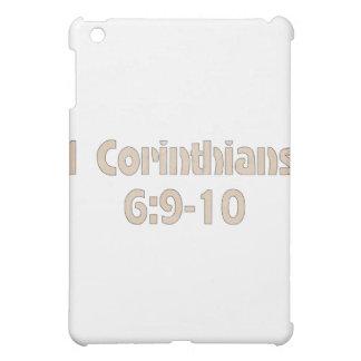 1 Corinthians 6:9-10 iPad Mini Cover