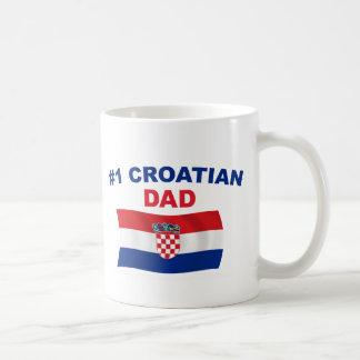 #1 Croatian Dad Coffee Mug
