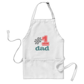 "#1 dad apron ""today's best award"""
